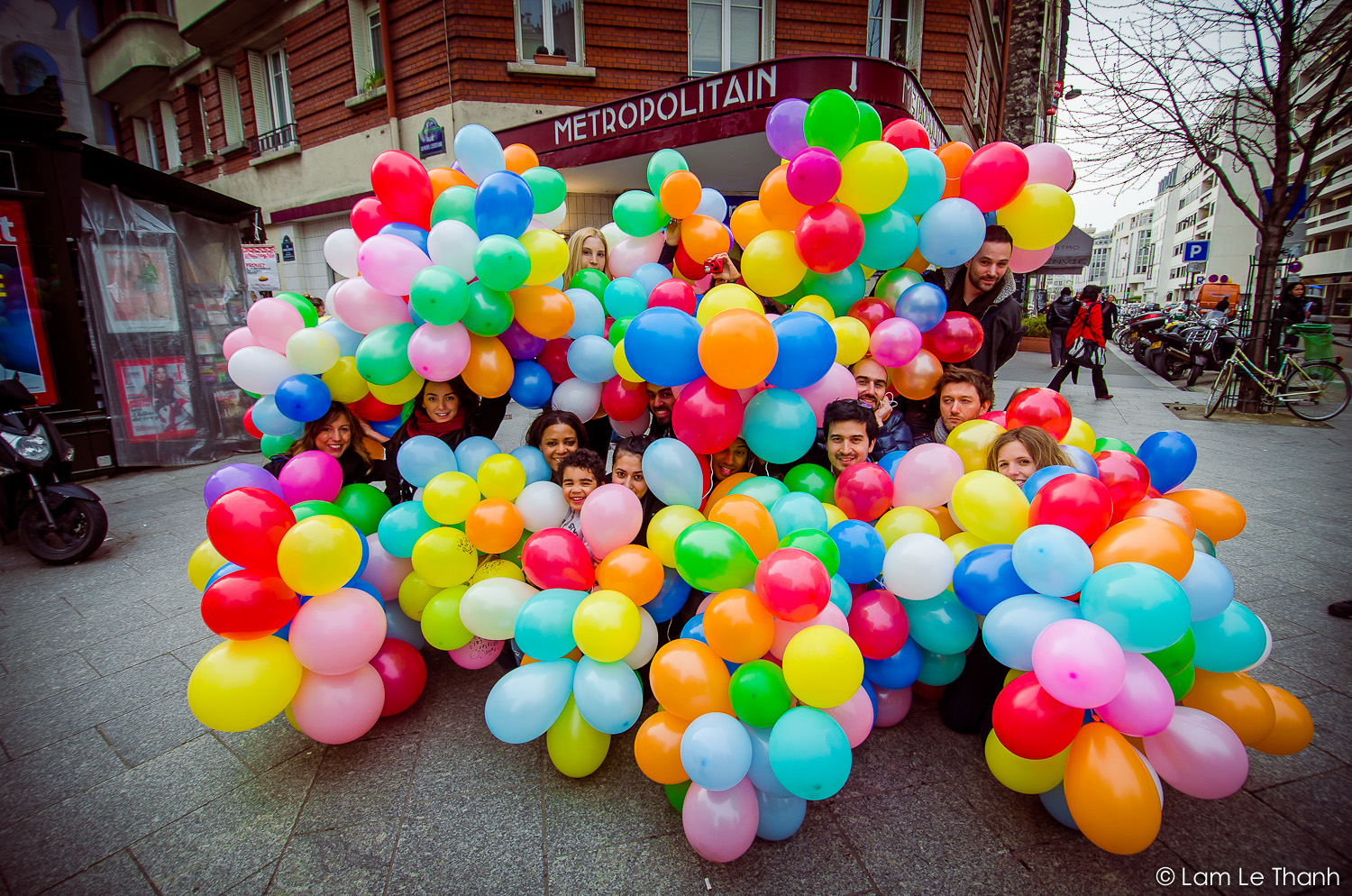 UrbanVaders : « Balloon Invasion »